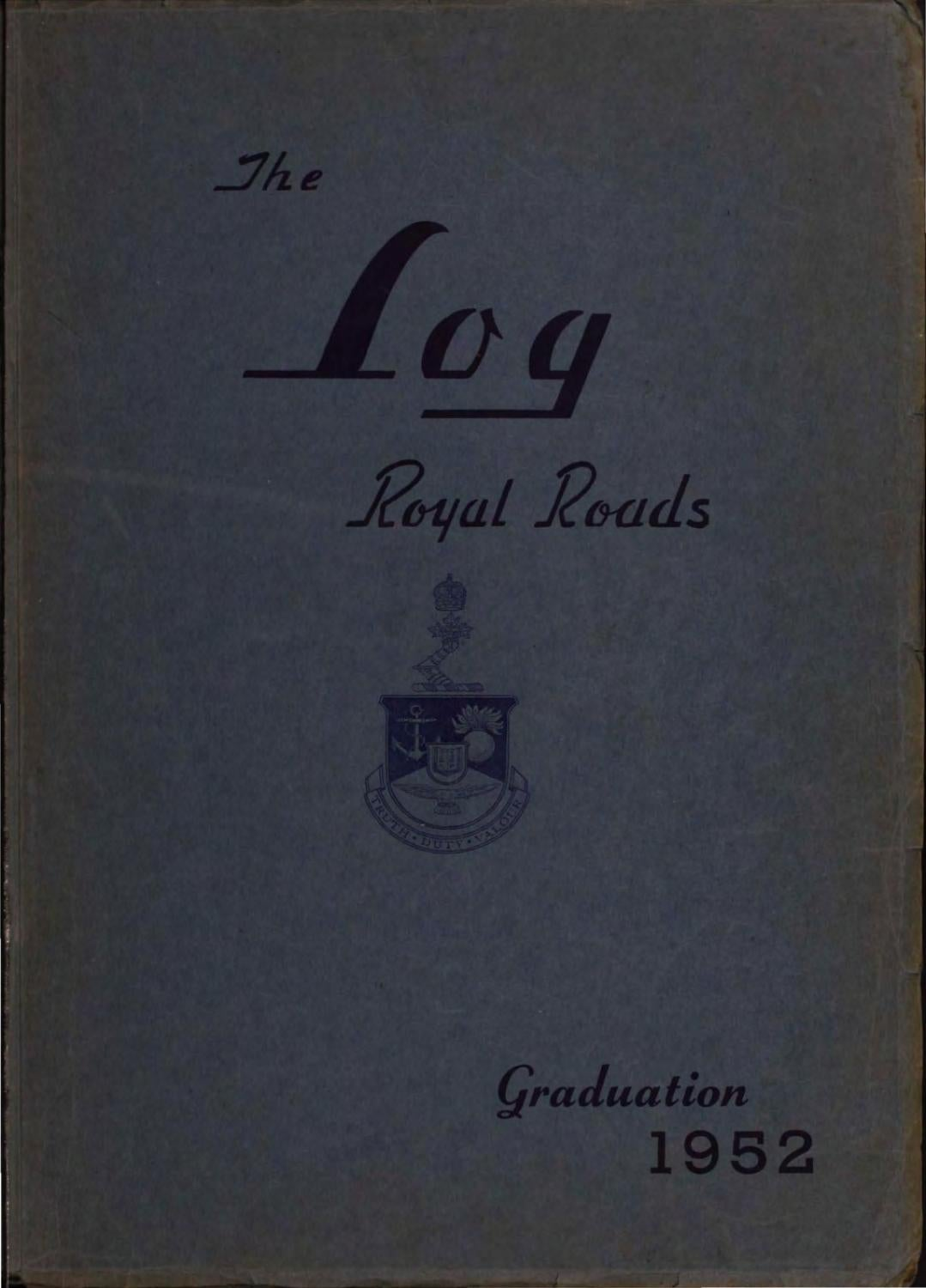 1952 Log Canadian Services College Royal Roads By Starting Circuit Diagram For The 53 Nash Statesman University Archives Issuu