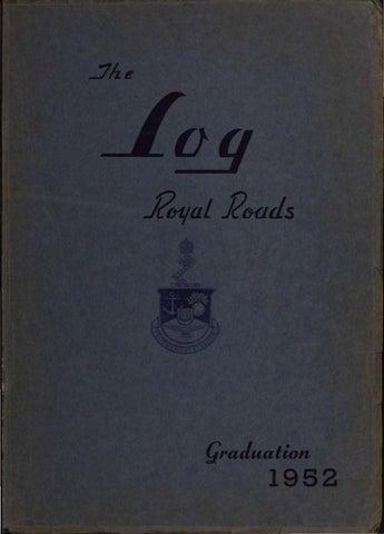 62c14ecc037d 1952 Log Canadian Services College Royal Roads by Royal Roads ...