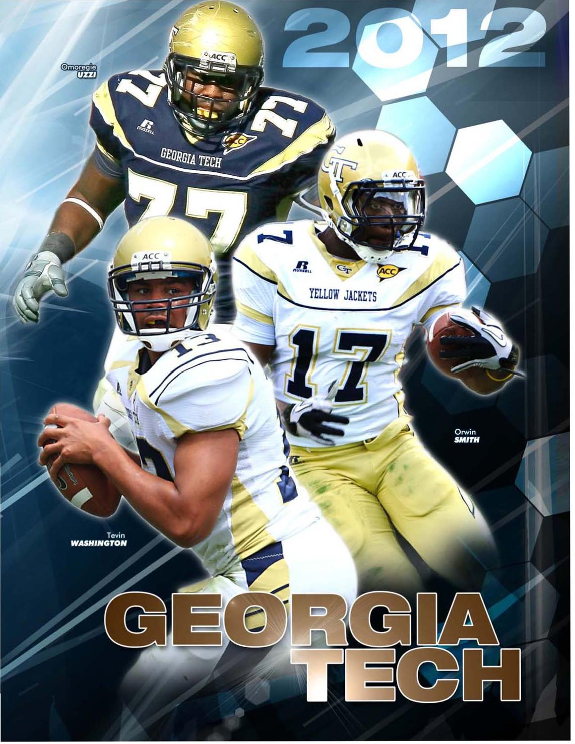e0375d476a 2012 Georgia Tech Football Info Guide by GTAthletics - issuu