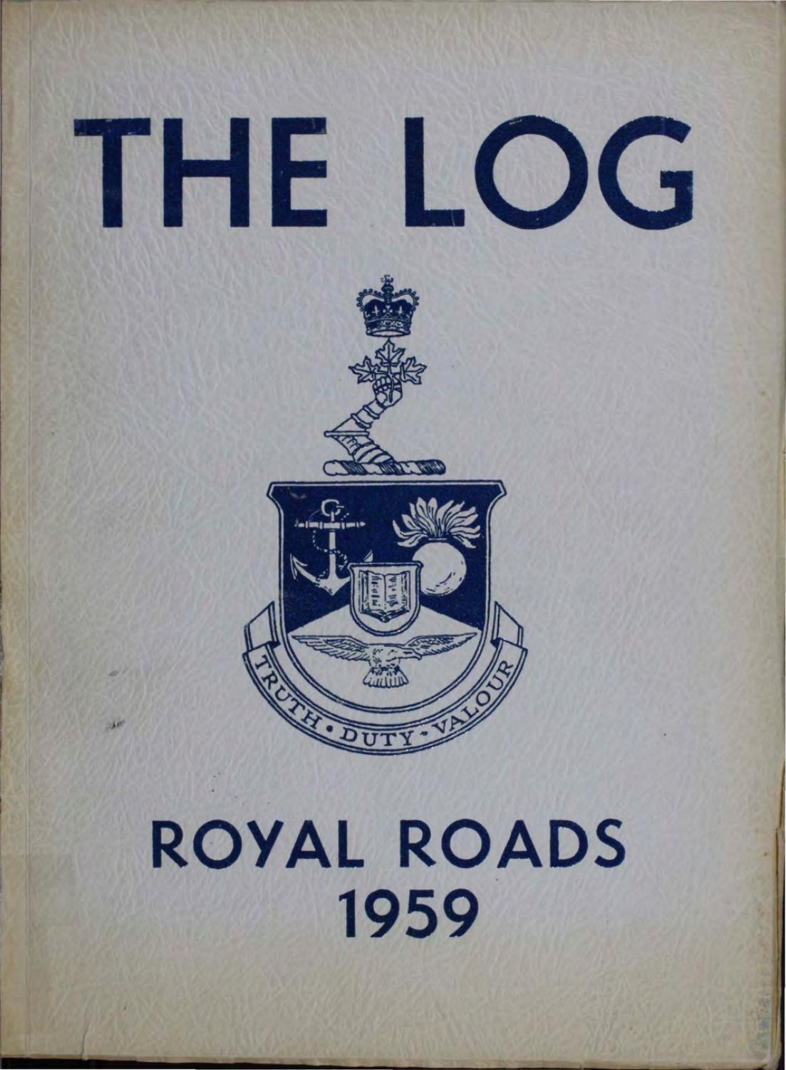 1959 Log Canadian Services College Royal Roads by Royal Roads ...