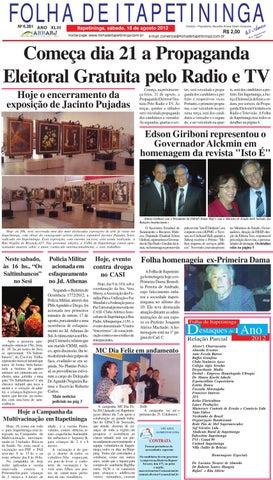 c0c5e0dd4 Folha 18 08 by Jornal Folha de Itapetininga - issuu