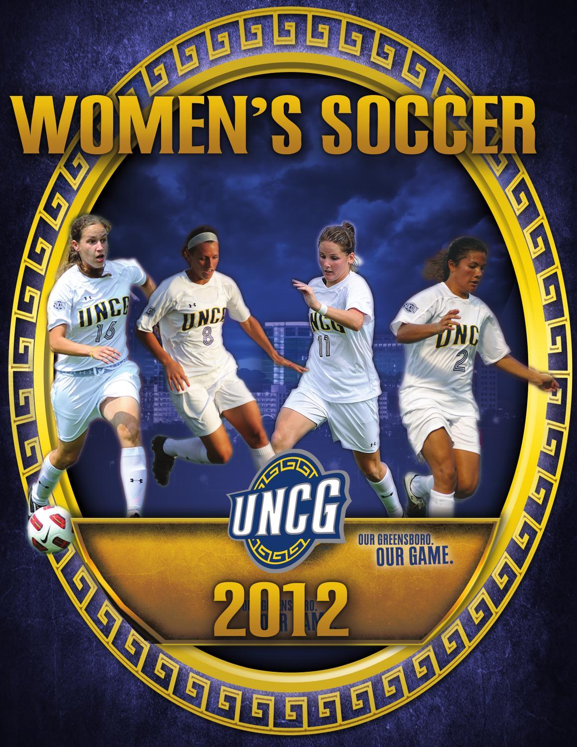 2012 Women s Soccer Digital Guide by UNCG Athletics - issuu eedc4db3b
