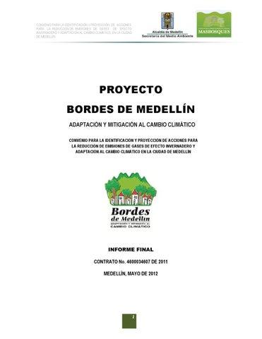 Proyecto Bordes de Medellin by Ciudad Comuna - issuu
