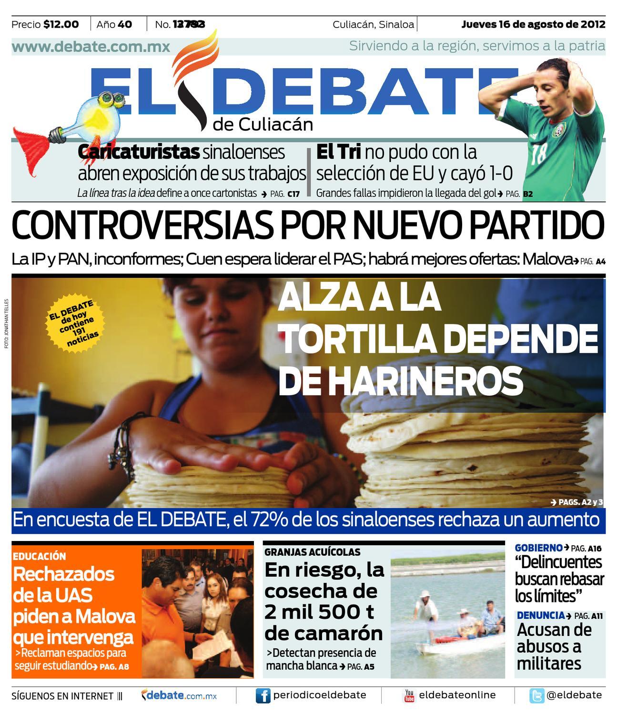 El Debate by Optimizacion en Medios Omsa - issuu 3cb425b2151