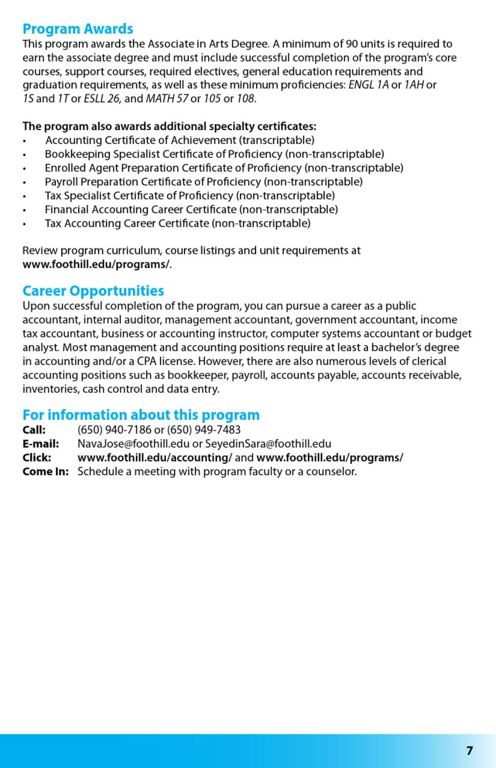 Foothill College Career Programs By Foothill College Issuu