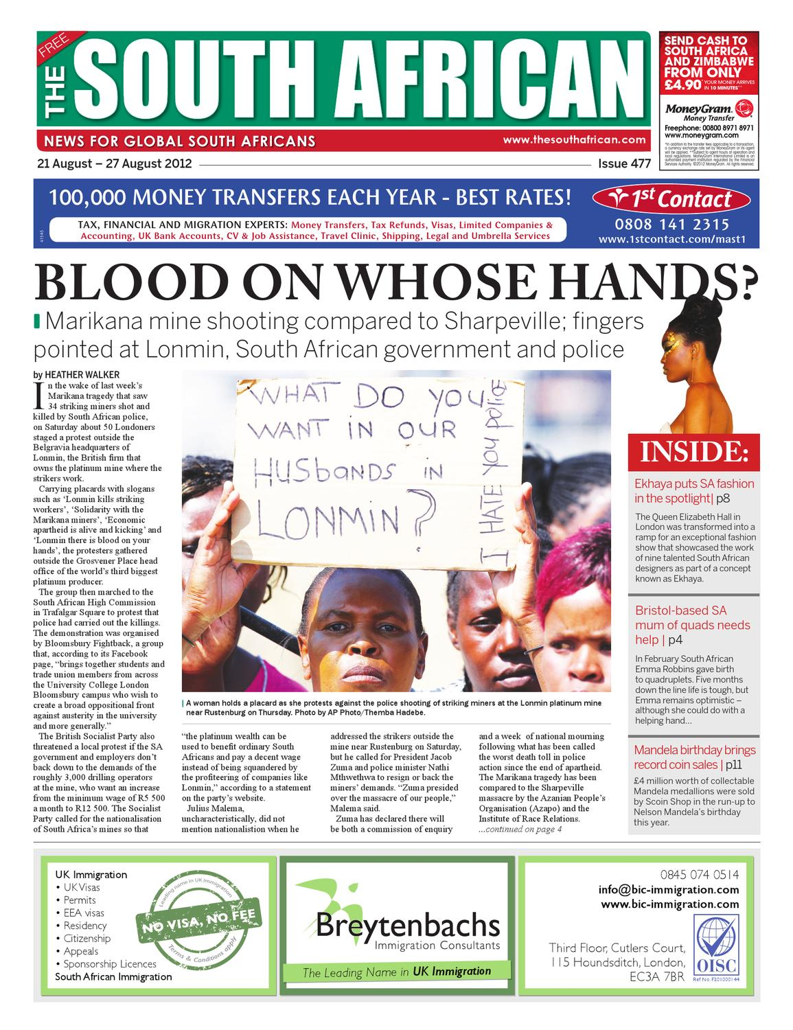 The South African, Issue 477, 21 August 2012