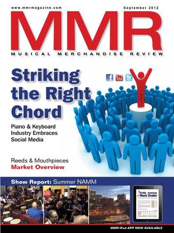 MMR September 2012 by MMR - Musical Merchandise Review - issuu
