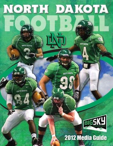 2012 University of North Dakota football media guide by University ... 9dab6f039