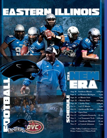 2012 Eastern Illinois Football Guide By Eastern Illnois Athletics