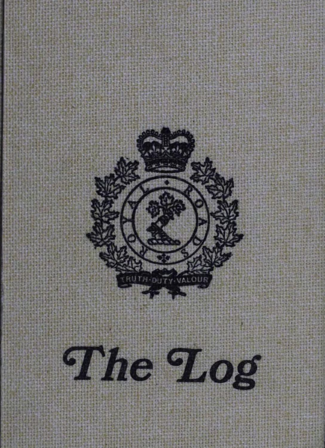 d41824b2f9b 1983 Log Royal Roads Military College by Royal Roads University Archives -  issuu