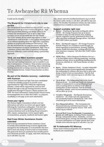 Tpr august 2012 by te runanga o ngai tahu issuu page 26 malvernweather Image collections