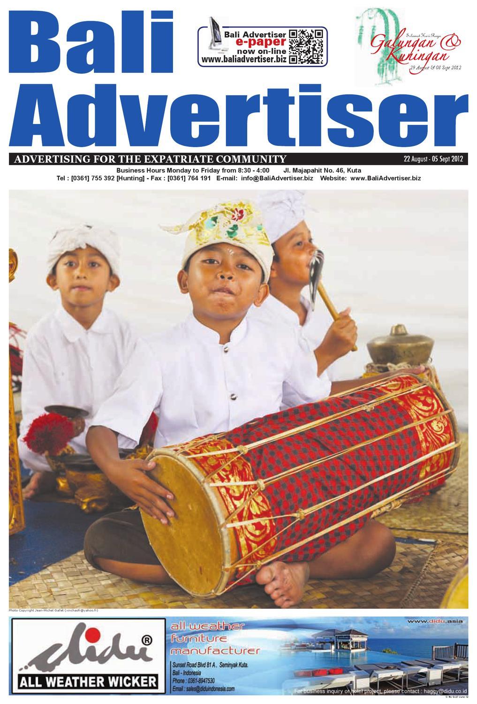 Ba 22 August 2012 By Bali Advertiser Issuu Huawei Mifi Pahe Grapari Mataram
