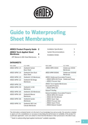 Ardex waterproofing manual 2017 by ardex new zealand ltd issuu yelopaper Choice Image