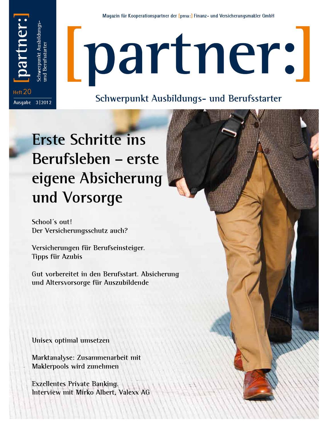Partnermagazin Nr.20 by [pma:] Finanz- und Versicherungsmakler GmbH ...