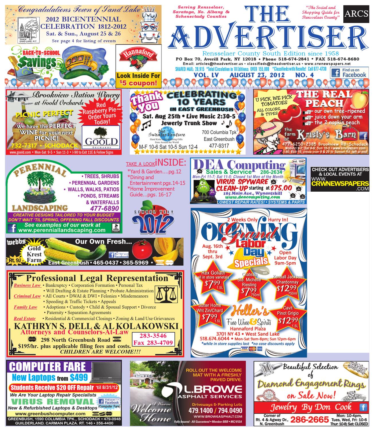 Advertiser South 082312 By Capital Region Weekly Newspapers Issuu Tony Perotti Loafers Archibald Brown