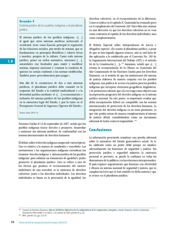 Pnud Sintesis Español 2009 2010 By Informe Nacional De