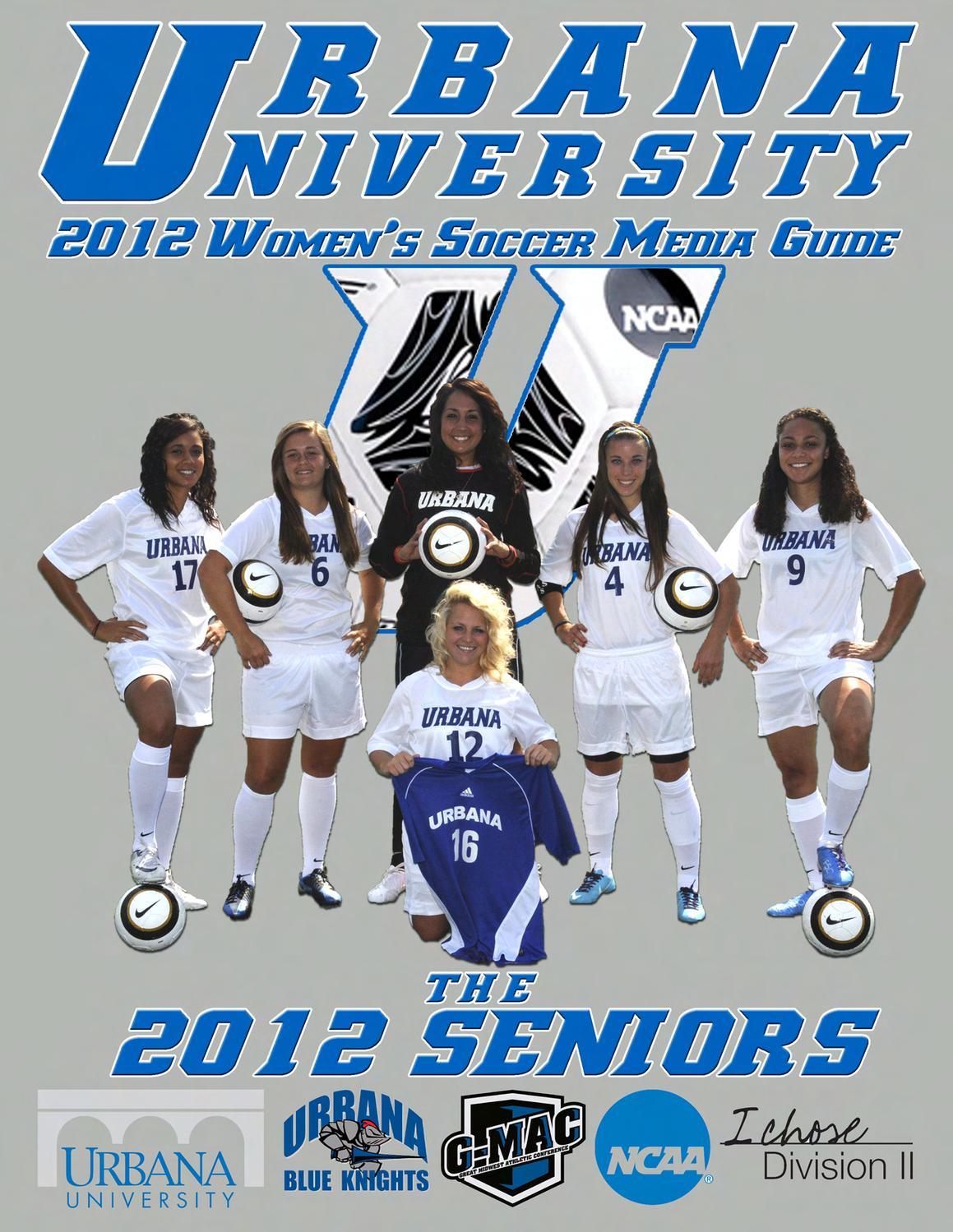 2012 Urbana University Women's Soccer Media Guide by ...