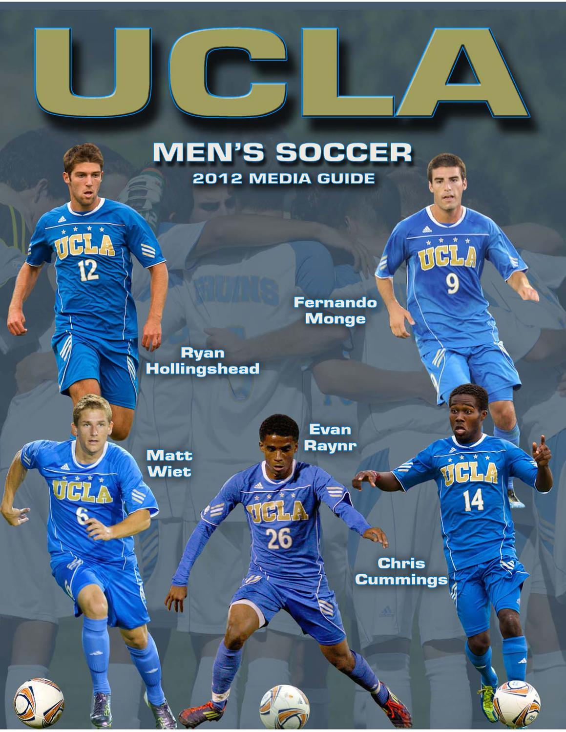 finest selection 4e2e7 23b7a 2012 UCLA Men's Soccer Media Guide by UCLA Athletics - issuu