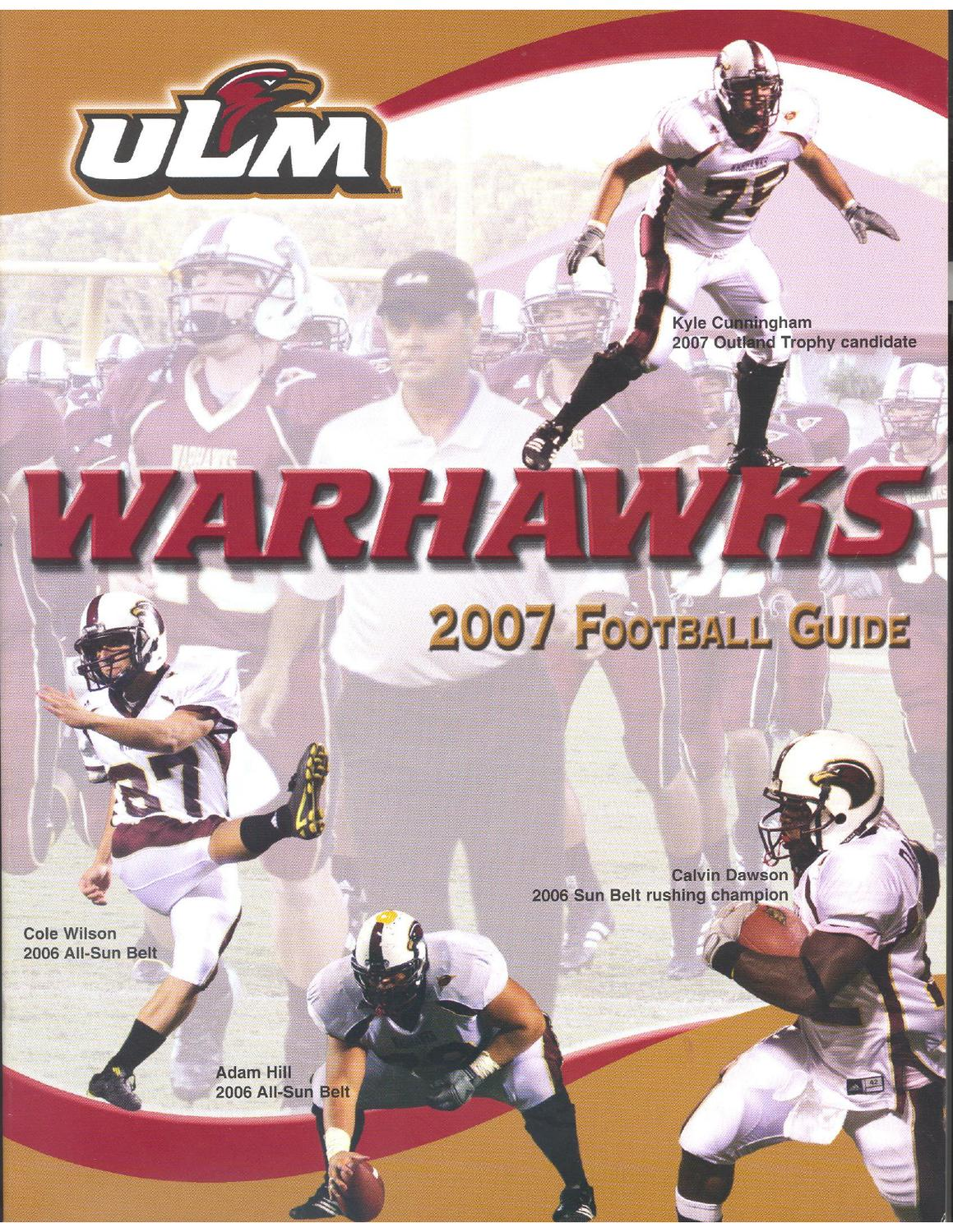 abd034432937 2007 ULM Football Guide by ULM - issuu