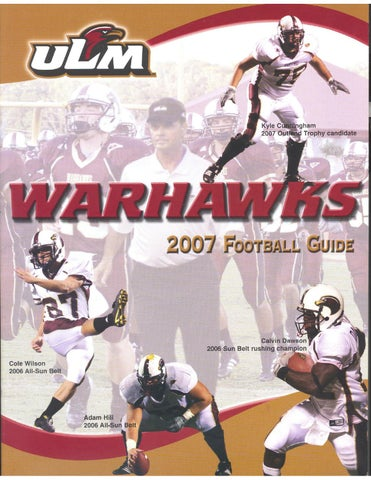 2007 ULM Football Guide by ULM - issuu 4fc2856b0