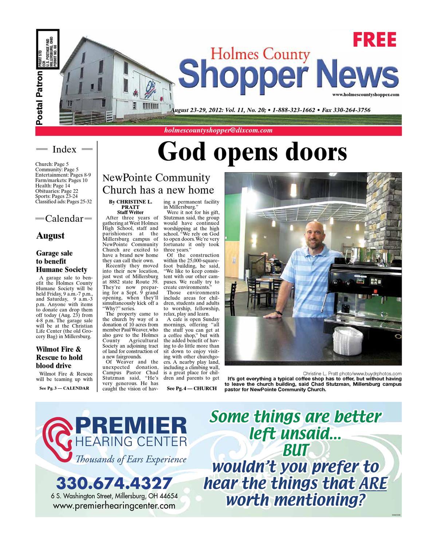 03e696999939 Holmes County Shopper