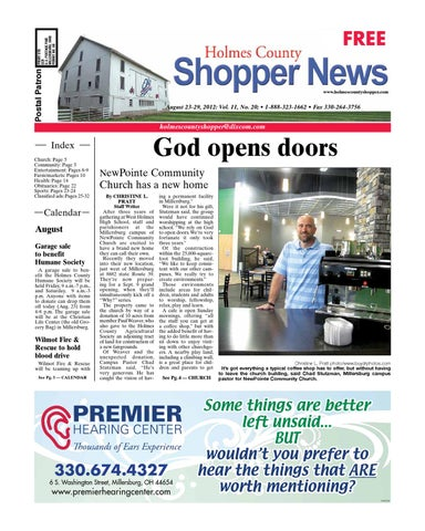 Holmes county shopper aug 23 2012 by gatehouse media neo issuu page 1 fandeluxe Image collections