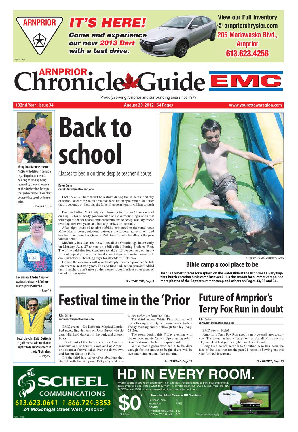 a5c061f20b430 Arnprior Chronicle Guide EMC by Metroland East - Arnprior Chronicle-Guide -  issuu