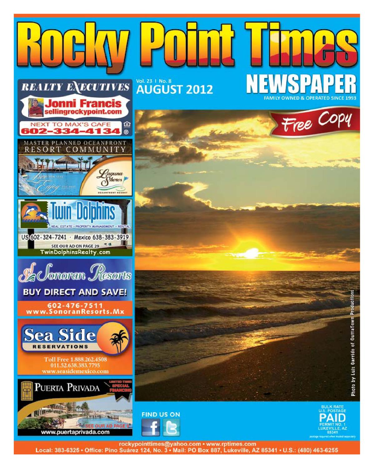 8ec402135d5 Rocky Point Times August 2012 by Rocky Point Services - issuu