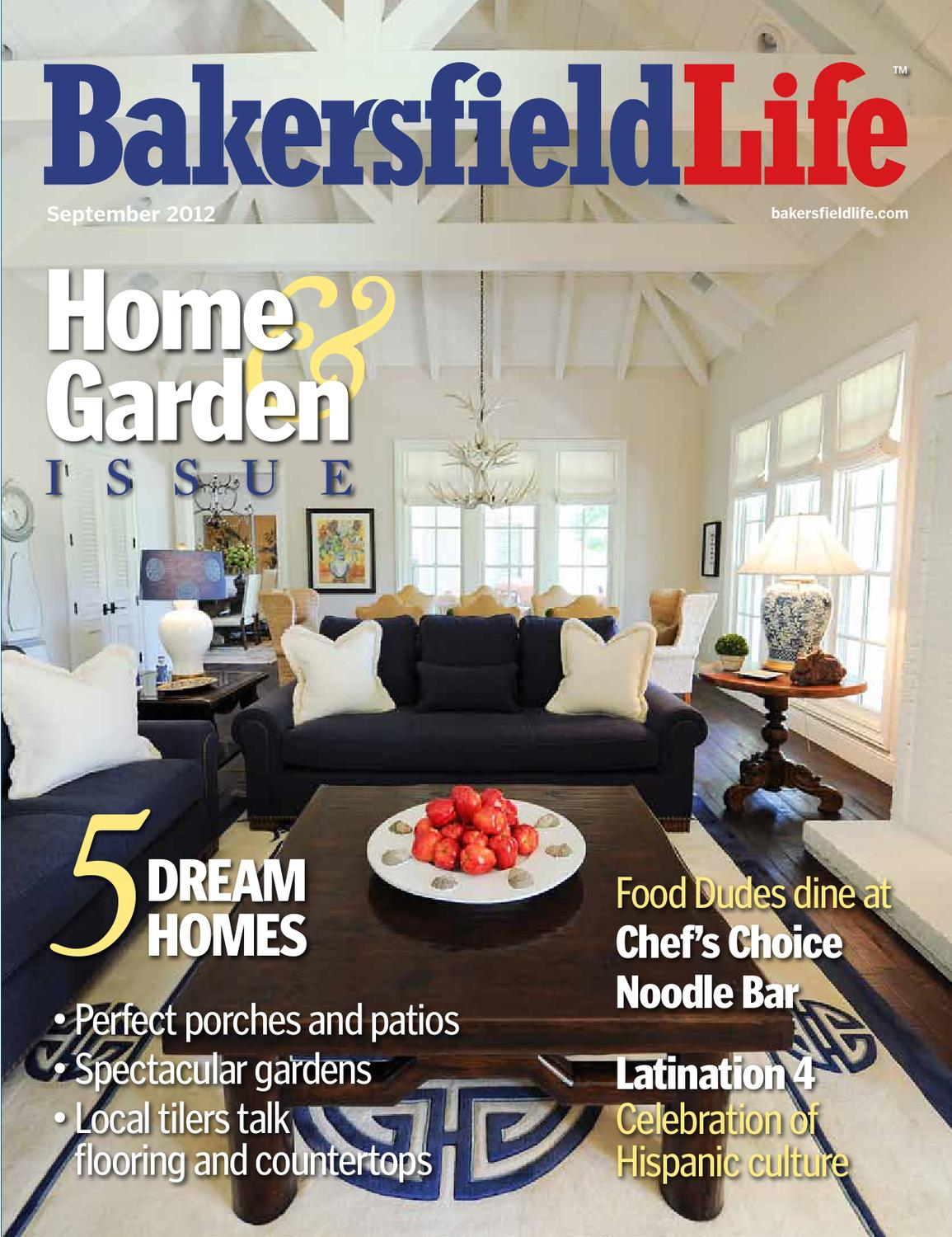 Bakersfield life magazine september 2012 by tbc media for Bakersfield home magazine