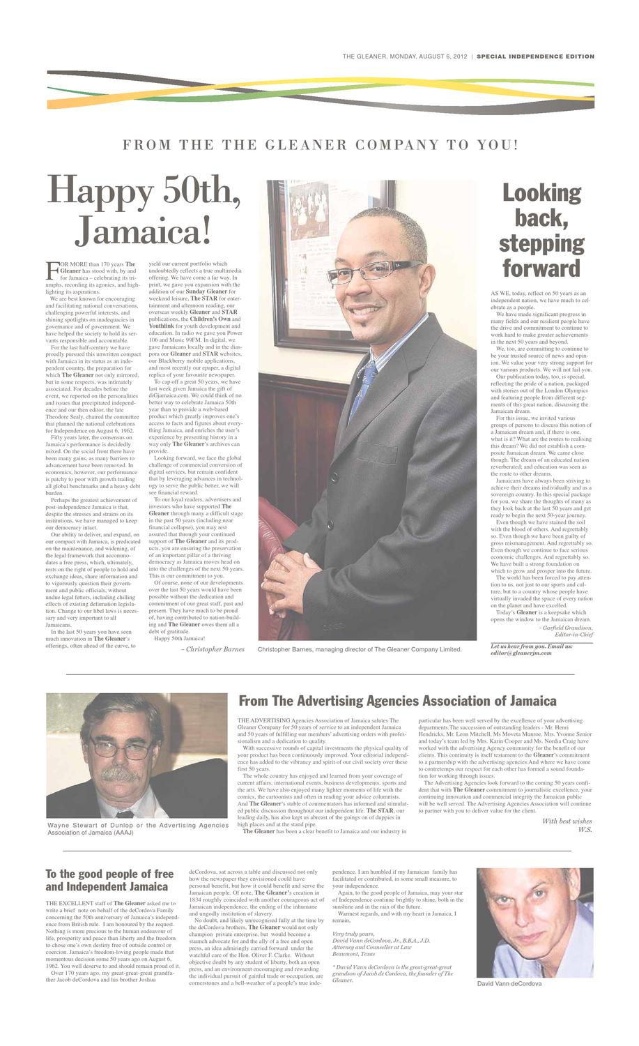 Sections A D By Dig Jamaica Issuu