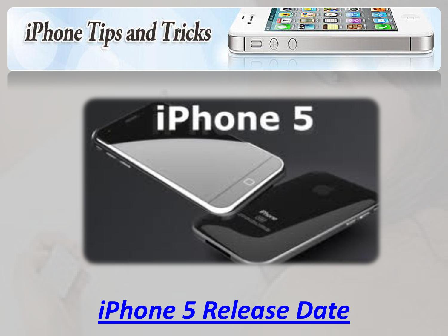 iphone 5 launch date iphone 5 release date by iphone 5 release date issuu 14533