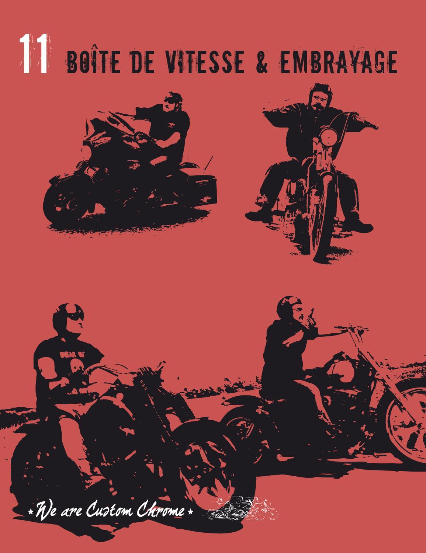 Principaux Cylindre De Frein Chrome Pour Harley-Davidson FLST 87-99