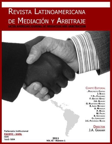 revista latinoamericana de mediaci243n y arbitraje by carlos