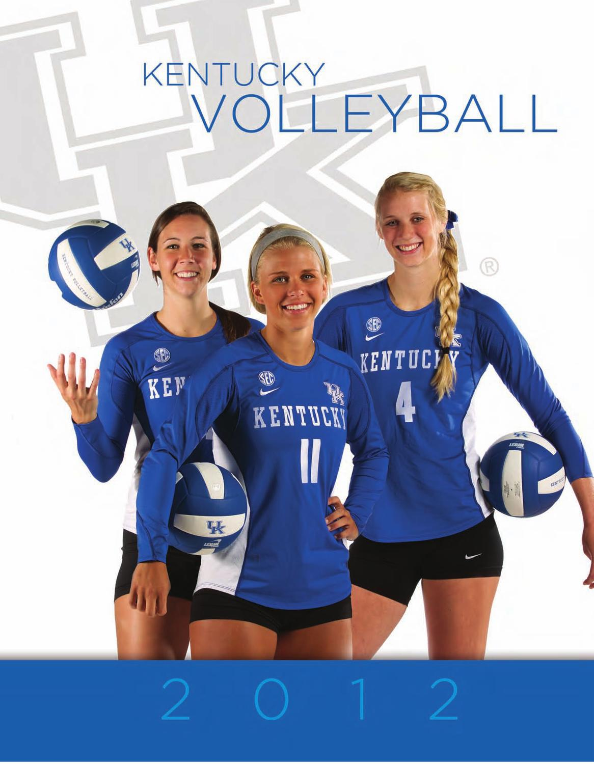 2012 Kentucky Volleyball Fact Book By University Of Kentucky Athletics Issuu