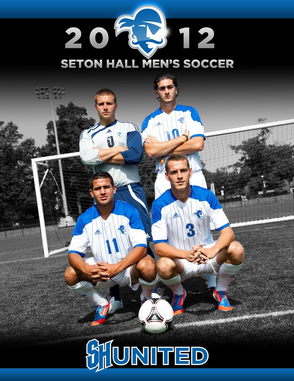2012 Seton Hall University Mens Soccer Media Guide By Pirates