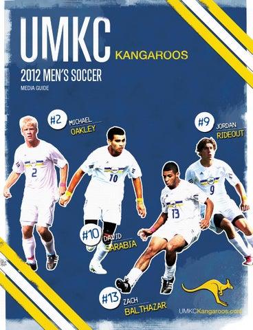 3784e0fb8 2012 UMKC Men s Soccer Media Guide by Nik Busch - issuu
