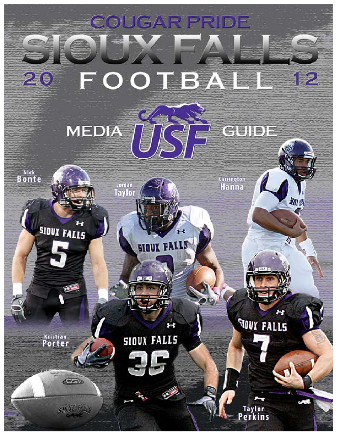 2012 Sioux Falls Football Guide By Usf Athletics Issuu