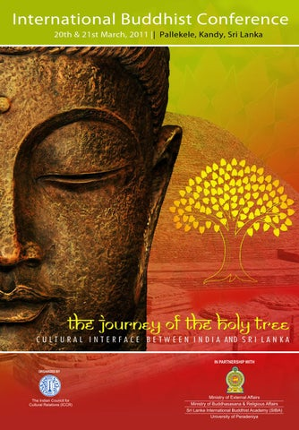 The Journey of the Holy Tree- Cultural Interface between India and