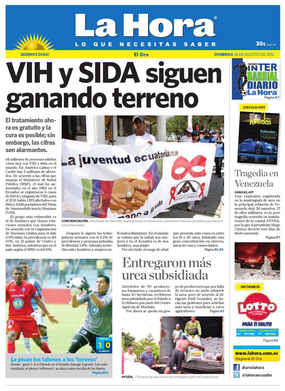 4c2f35e287e8 Diario La Hora El Oro 26 de Agosto 2012 by Diario La Hora Ecuador - issuu