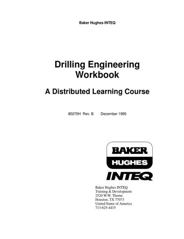 DRILLING BOOK by NED SPE STUDENT CHAPTER - issuu
