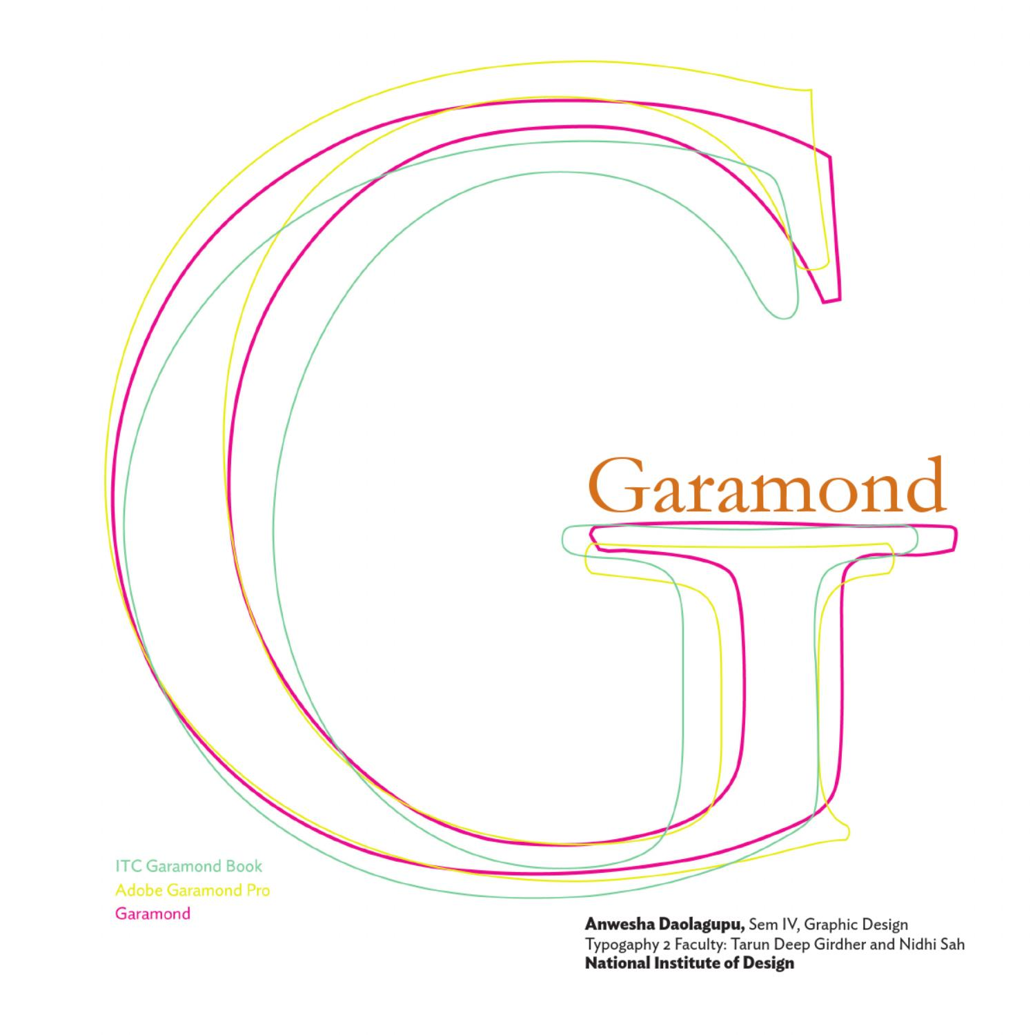 GARAMOND by Anwesha Daolagupu - issuu