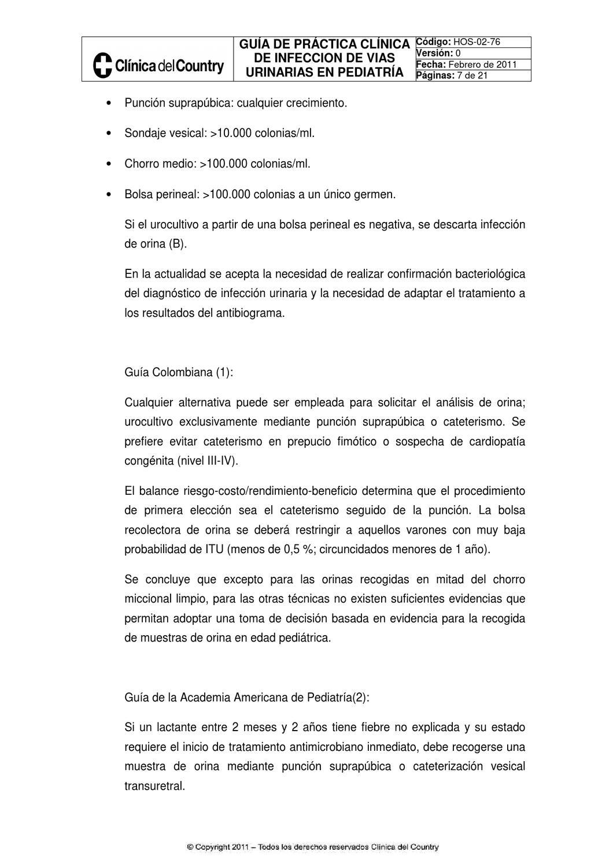 Infeccion Urinaria Pediatria Download