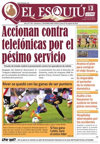 El Esquiu.com lunes 27 de agosto de 2012 by Editorial El Esquiú - issuu c9d87a35ef707