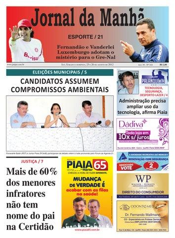 1bf3657083ff5 Jornal da Manhã 25.08.2012 by Classificados Jornal da Manhã - issuu