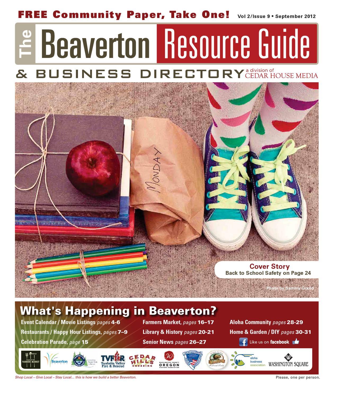 Brg September 2012 By Beaverton Resource Guide Issuu