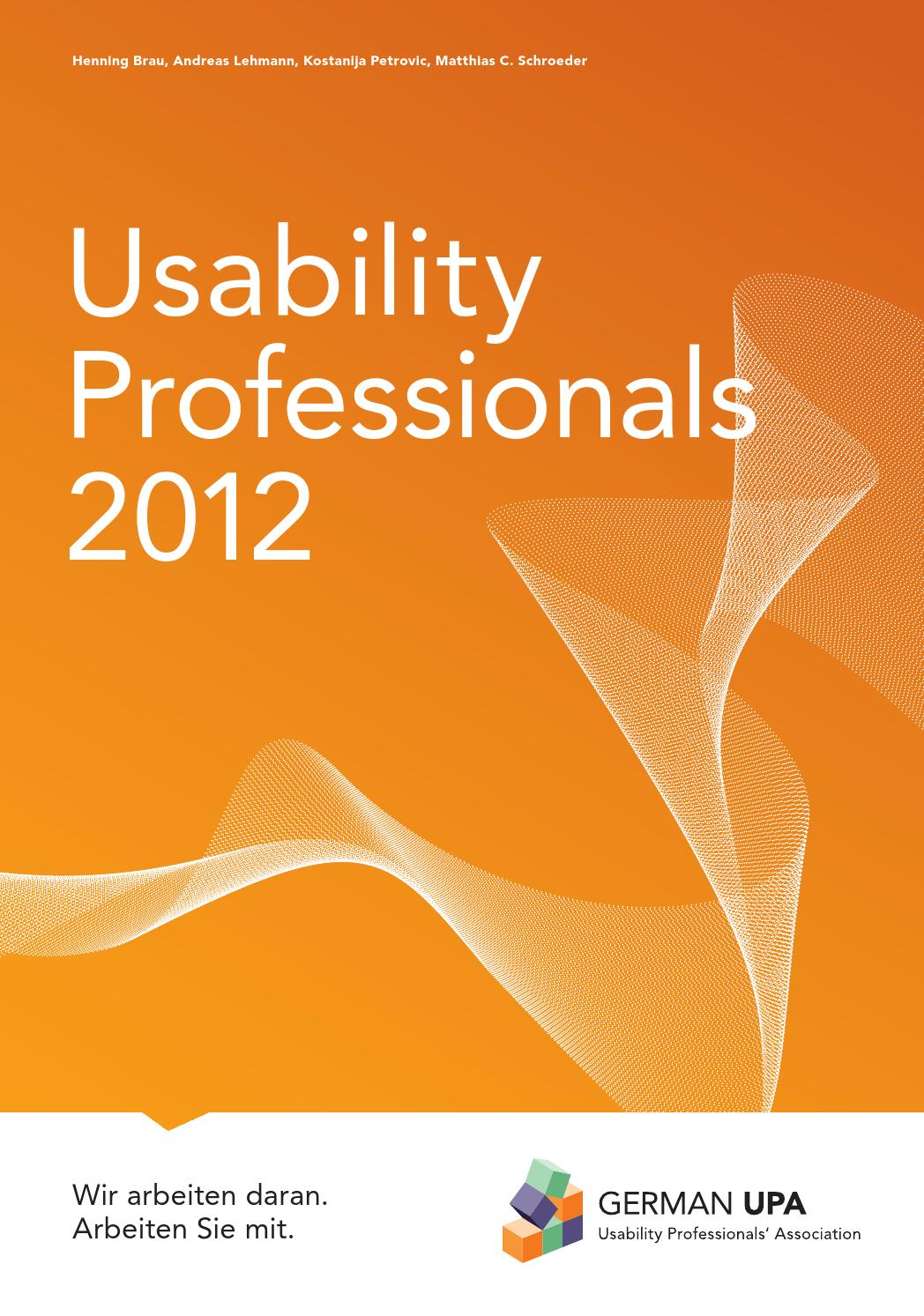 Usability Professionals 2012 - Tagungsband by German UPA e.V. - issuu