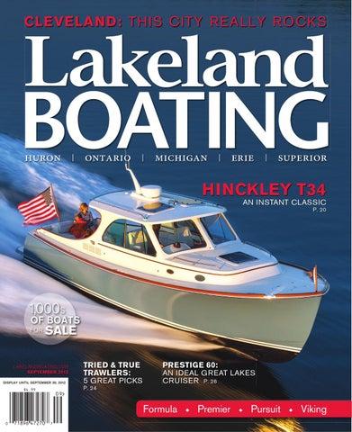 Lakeland Boating May By Lakeland Boating Magazine Issuu - Baja boat decals easy removallarson boat raised decal lsrorange