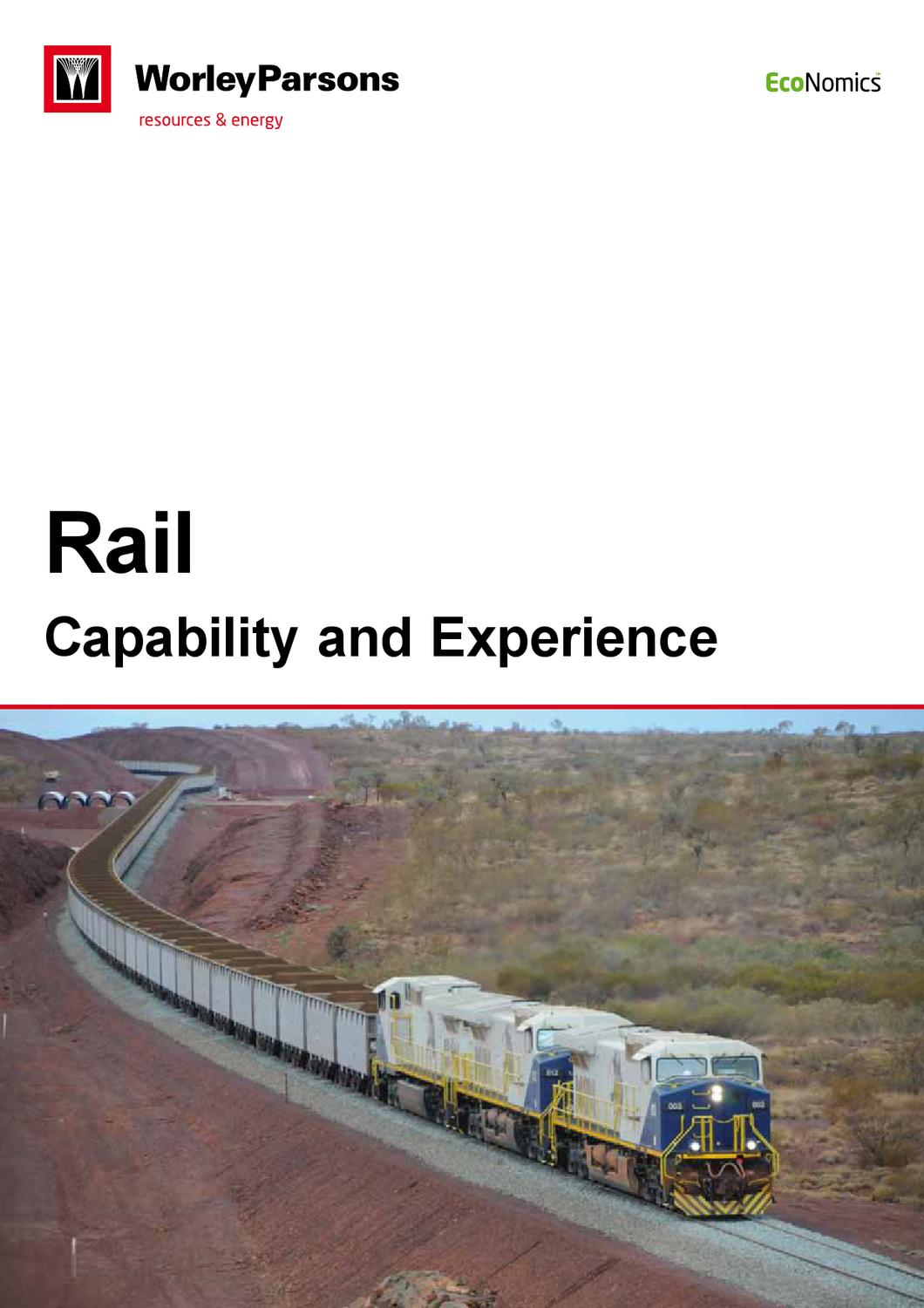WorleyParsons Transport and Rail by WorleyParsons - issuu