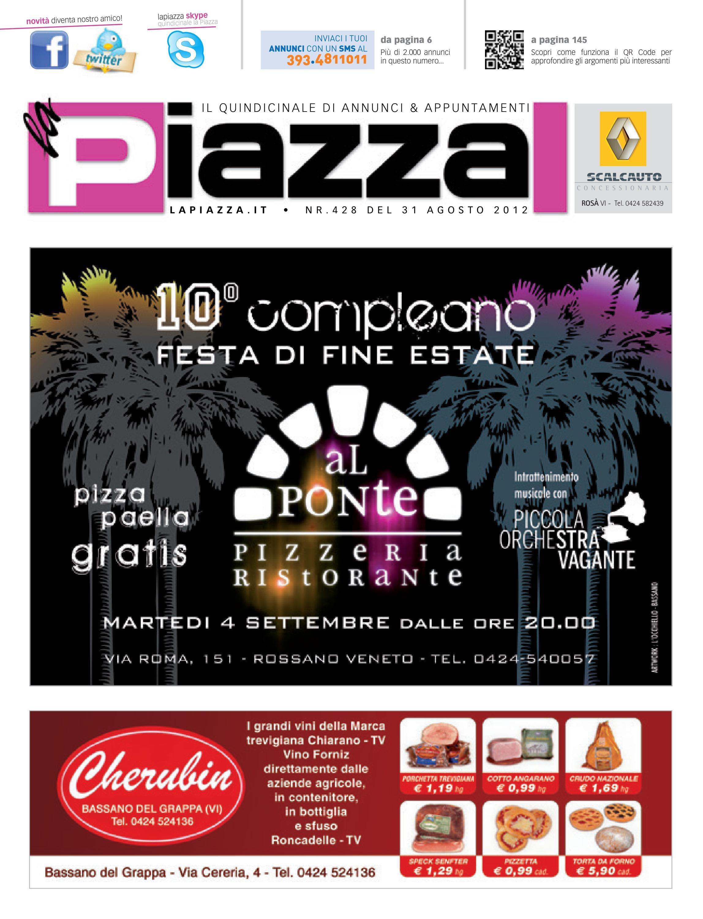 la Piazza 428 by la Piazza di Cavazzin Daniele - issuu 7f607fdf84ea