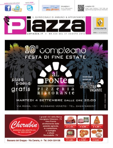 la Piazza 428 by la Piazza di Cavazzin Daniele - issuu 02251f69544